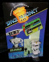 Space Precinct: Slomo - Action Figure - Sealed on Card